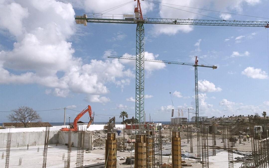 Progresa la ejecución de 47 viviendas unifamiliares en Fuengirola