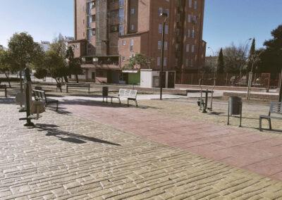 Barriada de los Arrayanes en Linares
