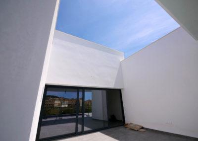 Edificación de vivienda unifamiliar en Estepona