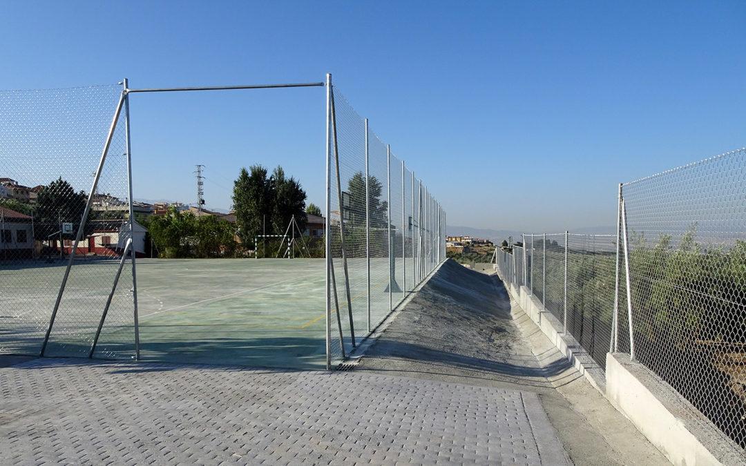 Reconstrucción en el CEIP Federico García Lorca
