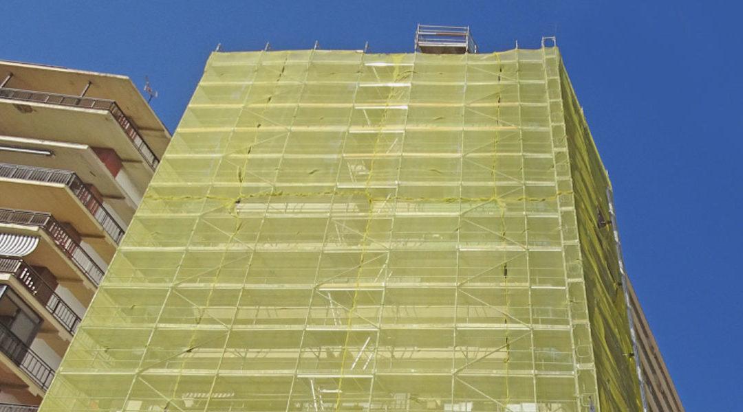 Rehabilitación edificio Atlántida en Algeciras.