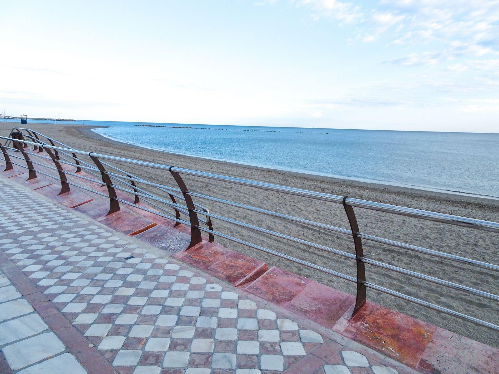 Balaustrada Paseo Marítimo Benalmádena