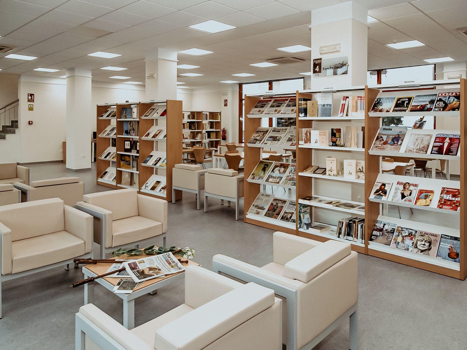 Biblioteca Los Palacios y Villafranca