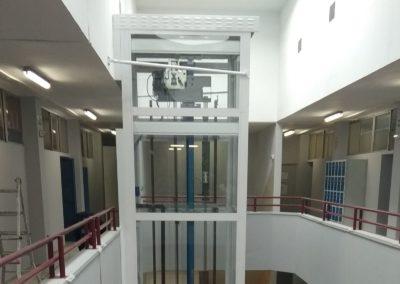 Obras de eliminacion de barreras arquitectonicas en el IES Garcia Lorca de Algeciras
