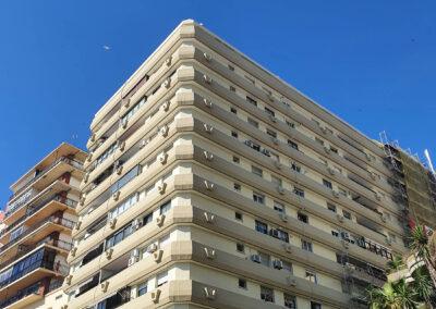 Rehabilitación fachada Edificio Atlántida