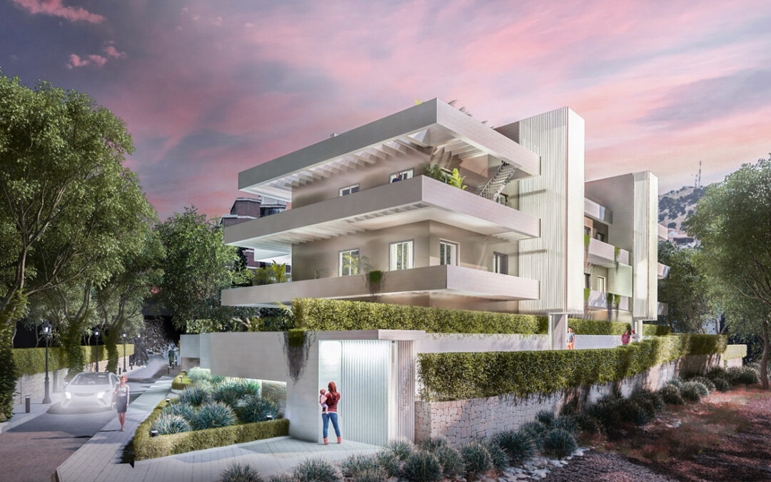 Empezamos en promoción de 12 viviendas en urbanización Limonar (Málaga)