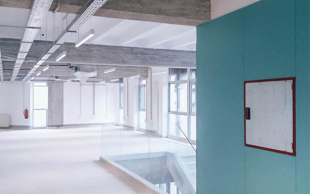 Finalizamos la reforma y adecuación del edificio de musicología de la UGR