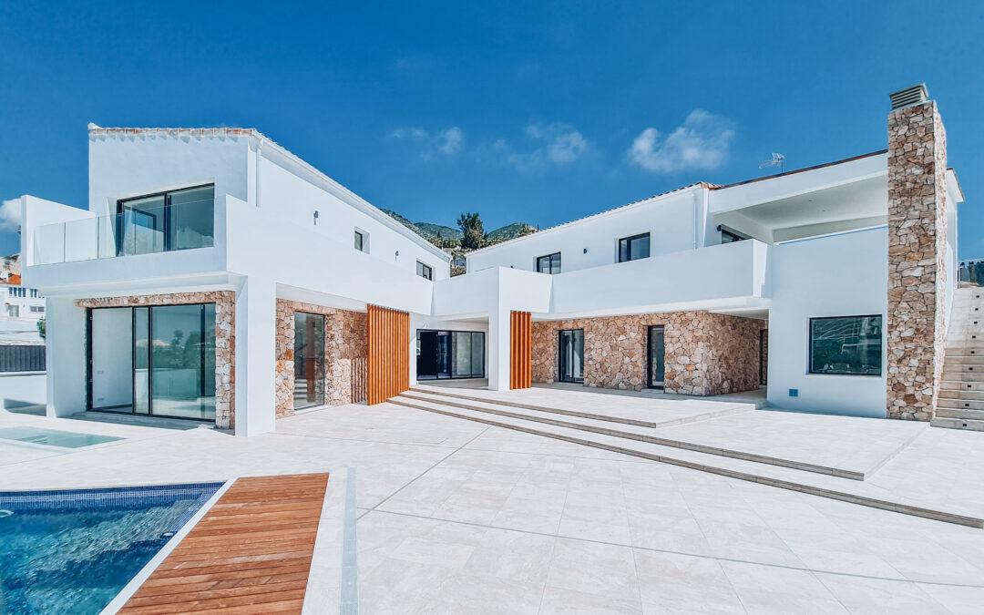 Nueva villa en Benalmádena