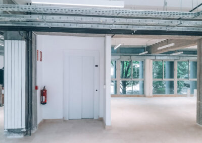 Reforma y adecuación del edificio de Musicología de la Universidad de Granada