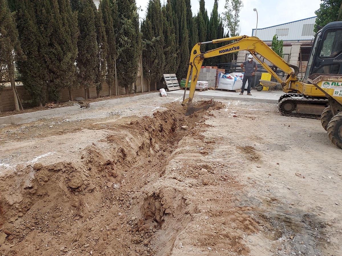 ampliación del colegio IES Francisco Montoya en El Ejido